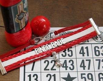 Bingo Bracelet | Casino Bracelet | Bingo Lover Bracelet | Bingo Lover Gift | Bingo Jewelry | Casino Jewelry | Bingo Prize | Bingo Gifts