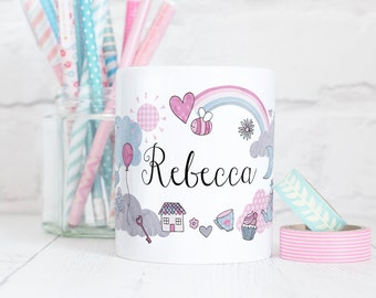 Cute Personalised Mug - Little Things Collection - Personal Gift