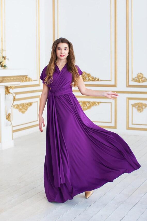 Excepcional La Dama De Honor Vestido De Abrigo Infinito Friso ...
