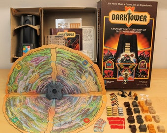 1981 Milton Bradely Dark Tower Board Game- Tower Works
