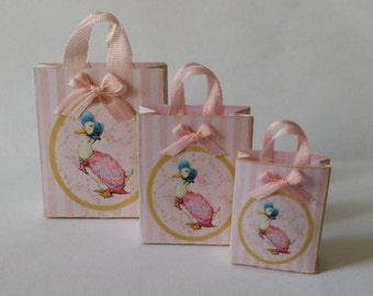 Pink Store bag for toy store o baby shop