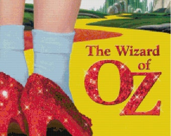 The Wizard of Oz Cross Stitch Pattern