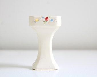 Miniature Bathroom Sink, Dollhouse Bathroom Sink, Miniature Pedestal Sink, Dollhouse Pedestal Sink Miniature Sink Dollhouse Sink Floral Sink