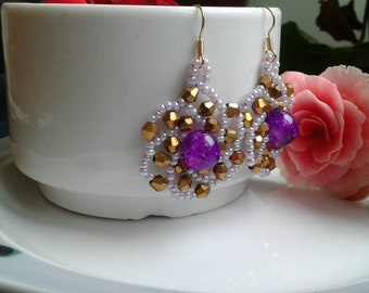 Swarovski Beaded Earrings