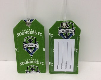 Seattle Sounders Luggage Tag