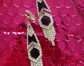Nouveau Inspired 70's Earrings
