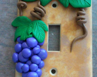 Grape Light Switch Cover