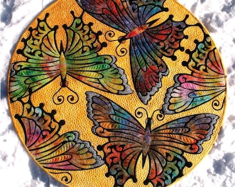 Butterfly Applique quilt pattern PDF download