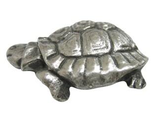 Textured Turtle Tortoise Magnet