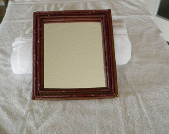 8x10 Red Twig Picture Frame/ Mirror