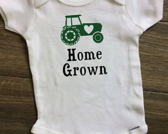 Farming Baby Onesie, Farm Baby Onesie, Farm baby clothes, Farm Baby, Farmer Baby, Farm Onesie, Tractor Baby Onesie