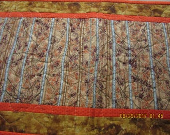 Table Runner, Fall Runner, Fall Table Topper, Birch Trees, Fall in Birch Forest