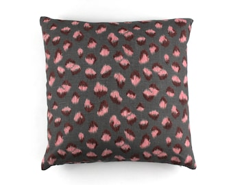 Kelly Wearstler Feline Pillows (shown in Rose Graphite-comes in other colors)