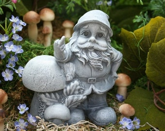 Funny Garden Gnome Giving the Finger, Rude Gnomes for Sale