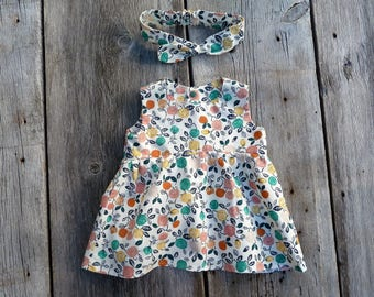 Organic baby top, Organic baby clothes, floral girls clothes, baby top, baby shirt, girls top