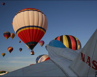 Poster, Many Sizes Available; Inflatable Half Scale Nasa Fa 18 2010 International Balloon Fiesta