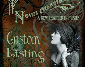 Ask Me About A Custom NovelCreations Book Purse - NovelCreations Book Clutch - Purse made from a book - Custom Book Cover Handbag