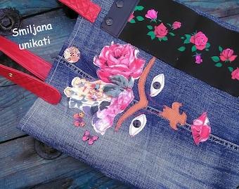 Frida Kahlo tote shoulder bag