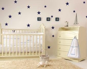 Wandtattoo für Kinder - Kinderzimmer-Wand-Aufkleber - Stern Aufkleberbogen 0026