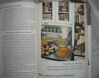 Vintage All About Baking Cookbook