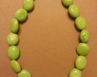 Chunky Blue and Green Turquoise Necklace