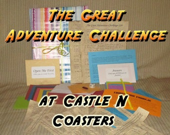 Scavenger Hunt Adventure - Castle N Coasters - The Great Adventure Challenge