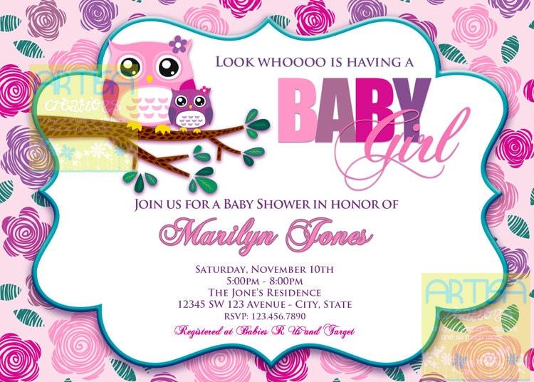 Owl baby shower invites selol ink owl baby shower invites filmwisefo