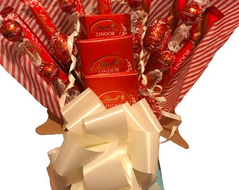 Lindt Lindor Chocolate Bouquet - Chocolate Hamper - Birthday Gift - Perfect Gift - Chocolate Gift