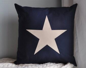 Star Twill Decorative Pillow Cover