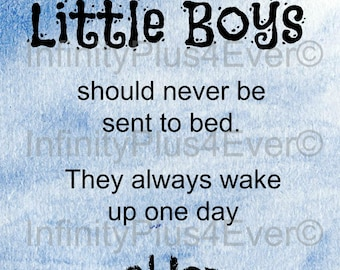 Little Boys Should Never - Peter Pan - INSTANT DOWNLOAD