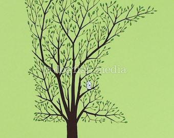 MN Grown - Spring   Minnesota Tree Screenprint Poster