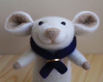 Wool toys mouse felt, needle felted, felted mouse, felt animal, felt mouse, eco toy, felt mice