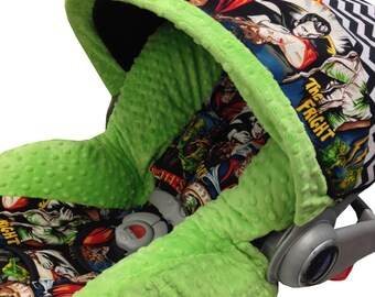 Classic Monsters Infant Car Seat Cover