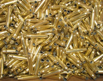 Large Lot  223 Caliber Range Brass shell Casings Cleaned / Unprocessed 1350+ count
