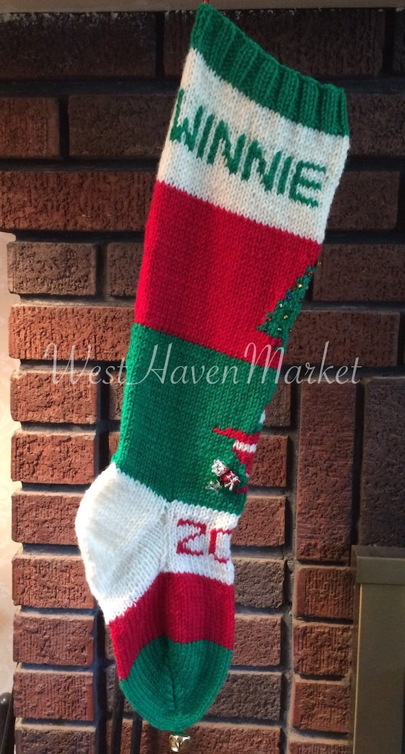 PDF for Candide Old Fashioned Christmas Stocking PATTERN