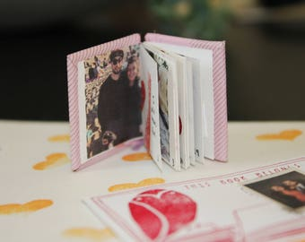 CUSTOM Photography  Print and written word Tiny Book