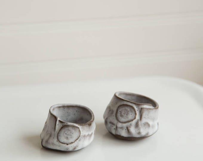 Paul Lowe Ceramics Salt and Pepper Cellars