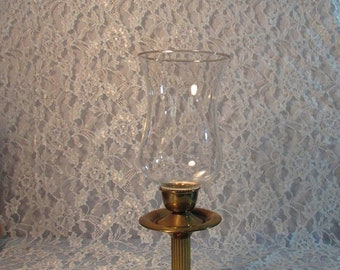 SALE Brass Lantern Candleholder