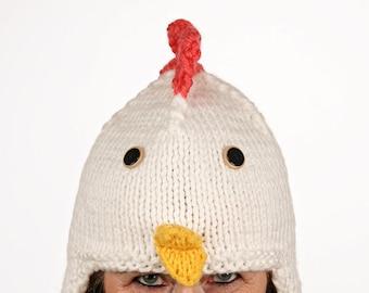 Pet-unique-funny winter hat in chicken