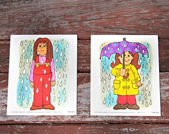 Vintage Opposite Cards [Wet and Dry]