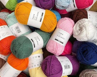 Yarn & Colors Epic - 100% Cotton - Colours 051 to 100