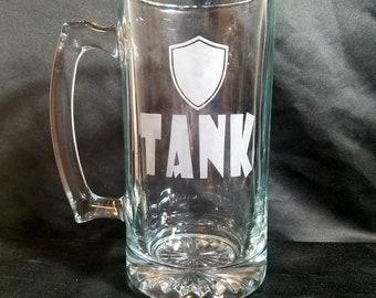 Fantasy Party - Tank Etched Mug