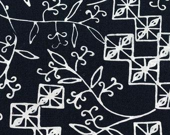 Spacious Skies Coordinating Print - Clothworks - Botanica III Collection Geometric Batik