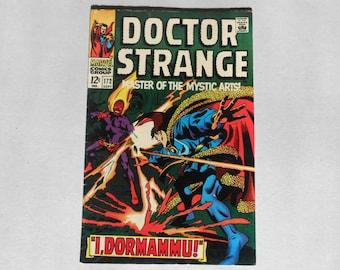 Dr. Strange: #172; Dormammu! 1968; Original Series; Silver Age Dr. Strange; Early Dormammu Dr. Strange movie villain; Fine-; Key Comic Book!