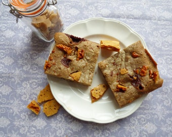 Honeycomb Blondies (Box of 4 or 9 squares)