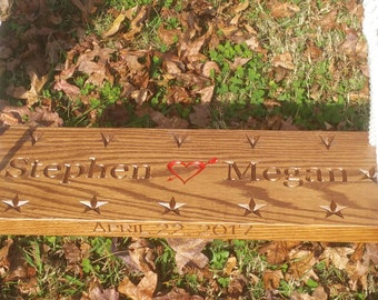 Wood Tree Swing Personalized