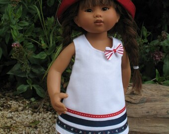 Navy outfit for Wichtel dolls