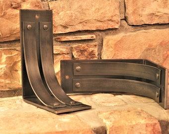 ONE Metal Mantel Corbel 4 Wide 8x10 Shelf Brackets Countertop Support Heavy Duty Decorative