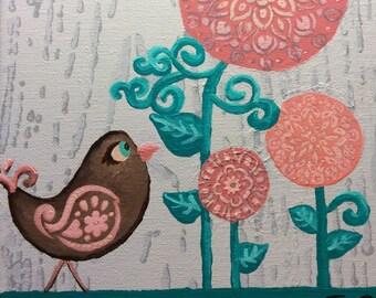 Nora Bird Painting