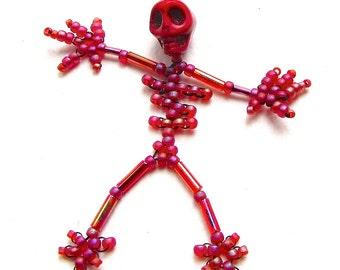 Dancing Skeletons Beadweaving Tutorial